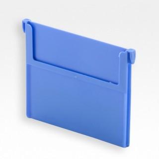 Skillevegg RKT 6/5/421, plast, blå