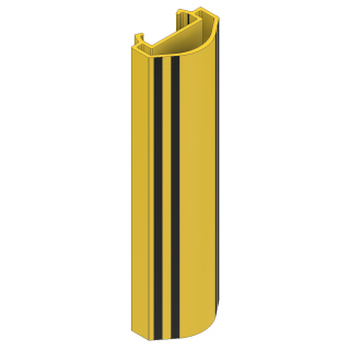 A-Safe RackGuardH: 400mm m/logo