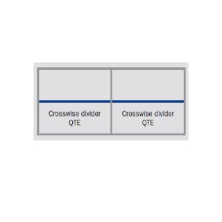 R3000 - Skillevegg QTE - skuffer