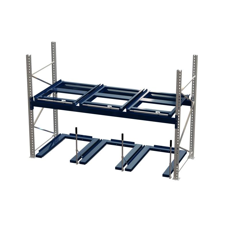 Palluttrekk gulvmodell 800 kg/84% blå RAL 5010